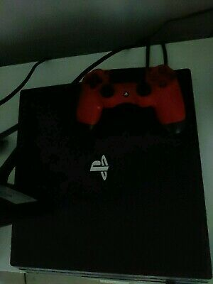 AU400 • Buy PS4 Pro 1TB With 11 Games And Red Controller. Perfect Condition. Ready Now