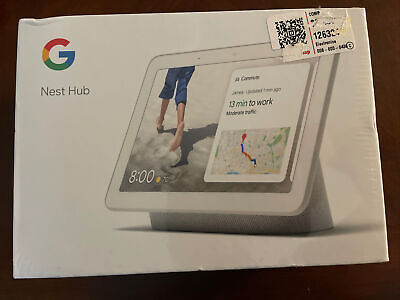 AU38.51 • Buy Google Nest Hub With Built-In Google Assistant, Chalk (GA00516-US) NEW