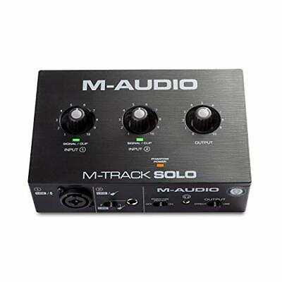 $55.65 • Buy M-Audio M-Track Solo–USB Audio Interface For Recording, Streaming And Podcasting