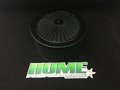 AU139.95 • Buy Hi Flow 9  X 5  Air Cleaner Filter Assembly Holley 4150 Black 45939