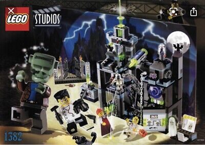 £149.99 • Buy Rare Lego STUDIOS, Set Number 1382, Pre-owned, Scary Laboratory, 100% Complete.