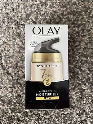 AU12.52 • Buy OLAY Total Effects 7 In ONE Anti-Ageing Moisturiser-SPF, NIGHT, FRAGRANCE FREE
