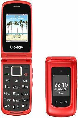 Uleway Big Button Mobile Phone For Elderly, Unlocked • 34.50£