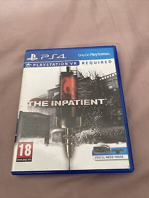 AU7.16 • Buy The Inpatient PSVR PlayStation 4 PS4 Game