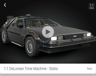 $50 • Buy Back To The Future DeLorean Rare #/25000 VeVe NFT 3D Digital Collectible