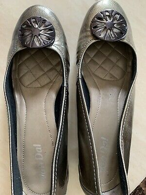 £15 • Buy Van Dal Women Pewter Patent Leather Shoes Size 7D(40) Ashwell