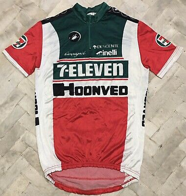 AU59.94 • Buy Vintage Castelli 7-Eleven Hoonved Cycling Team Jersey Sz 7 Made In Italy