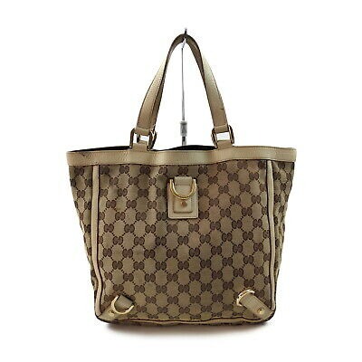 AU1.26 • Buy Gucci Hand Bag Abbey GG Light Brown Canvas 2402279