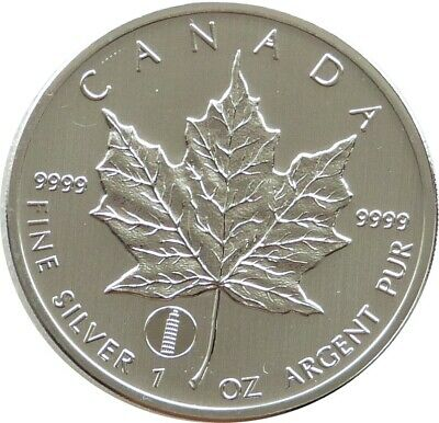 2012 Canada Tower Of Pisa Privy Maple Leaf $5 Five Dollar .9999 Silver 1oz Coin • 25£