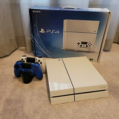 AU102.50 • Buy Sony Playstation4 PS4 500GB Glacier White
