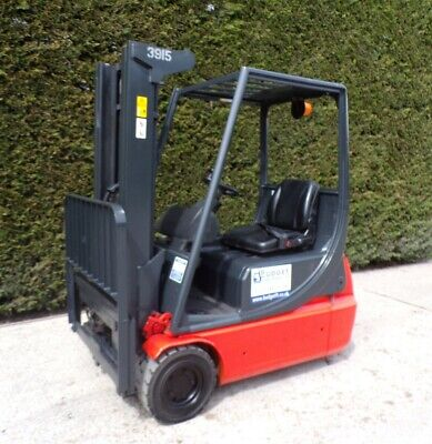 £5100 • Buy Linde E16 Electric Forklift 4450mm Lift Height Sideshift