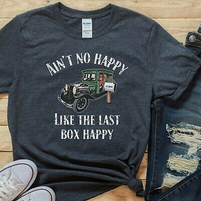 $23.95 • Buy Essential Worker Shirt Mail Carrier Shirt Rural Carrier Gift Ain't No Happy Like