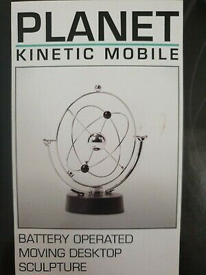 £10 • Buy Planet Kinetic Mobile Desktop Toy Gift Novelty Adults Childs Retro Classic