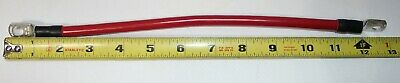 AU9 • Buy 12  Red 4 Gauge AWG Copper Battery Cable Jumper Dual Battery Marine Grade Boat