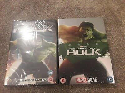 £15.98 • Buy Marvel Phase 1 The Incredible Hulk DVD Sealed With MINT O-RING Slipcover/Rare