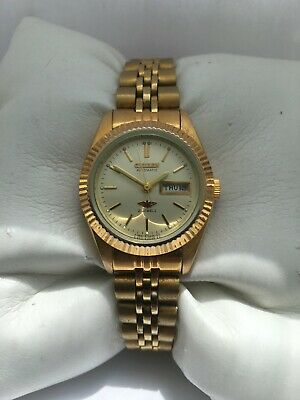 £89 • Buy Citizen Womens Automatic Gold Plated Day &Date 21 Jewels 6651-R02114 Watch
