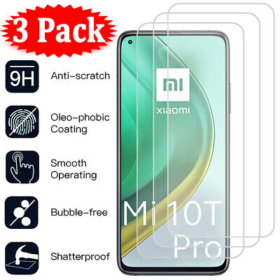 $3.68 • Buy 3Pack For Xiaomi Mi 11 Lite 10T Pro 9T A3 A2 8 9 Tempered Glass Screen Protector