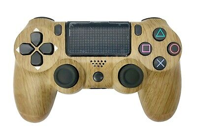 AU53.38 • Buy PS4 Controller With Custom Wood Design - New In Box
