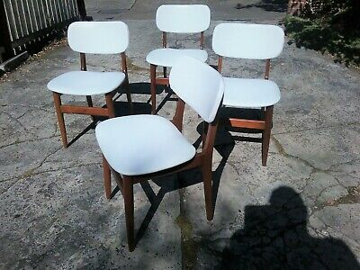 AU550 • Buy Mid Century Modern 60's Dining Chairs X 4