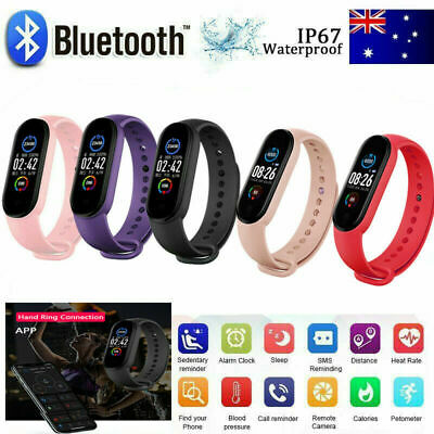 AU15.99 • Buy M5 Smart Watch Band Sport Activity Fitness Tracker For Kids Fit Bit Android IOS