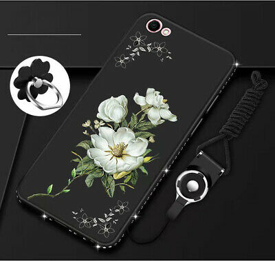 AU17.98 • Buy For OPPO AX7 A52 A72 Ax5s AX5 Case Retro Flower Cover With Kickstand Belt Clip
