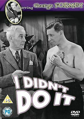 £2.99 • Buy I Didn't Do It [1945] (DVD) George Formby, Billy Caryll, Jack Daly