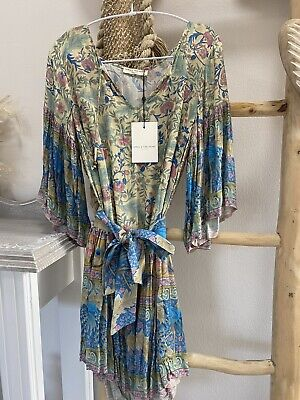 AU10.39 • Buy Spell And The Gypsy Oasis Mini Dress Size S BNWT