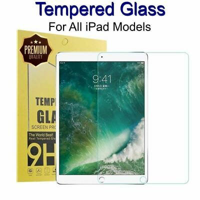 AU7.77 • Buy 1 Tempered Glass Screen Protector Film For Apple IPad Pro 10.5 9.7 2020 9.7 10.2