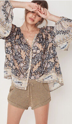 AU100 • Buy Spell & The Gypsy Collective Oasis Blouse Nightshade XS