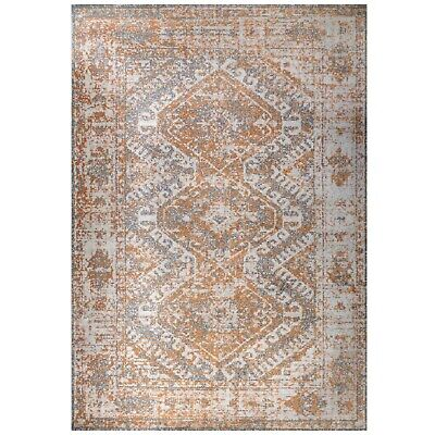 £69.95 • Buy Terracotta Indoor Geometric Pattern Rugs Non Shed Moroccan Living Room Area Rug