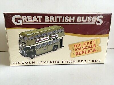 £12.99 • Buy Atlas Editions Leyland Titan PD2 / Roe Lincoln 1/76 Scale Boxed Free Post