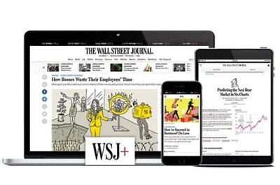 $28 • Buy Wall Street Journal Digital Access 12-month / IOS/Android/PC