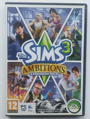 £4.99 • Buy The Sims 3: Ambitions (PC: Mac, 2010)