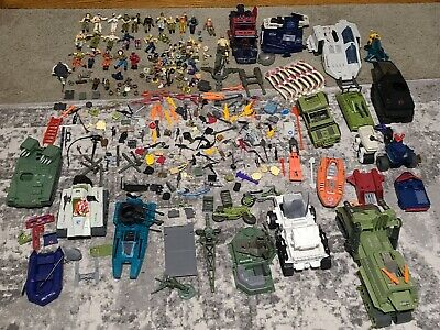 $ CDN245.66 • Buy G.I. Joe  Super Large Lot  Action Figures-Back Packs-Body Parts-Weapons, Vehicle