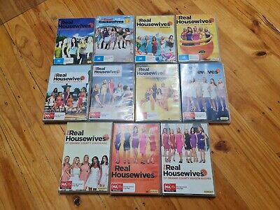 £183.62 • Buy The Real Housewives Of Orange County Seasons 1 - 11 DVD Region 4 VGC *RARE*