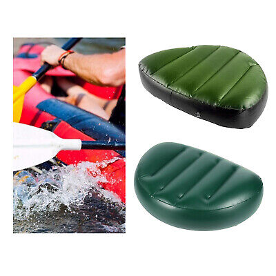 £6.94 • Buy Kayak Inflatable Seat Outdoor Canoe Boat Air Seat For Fishing Rowing Camping