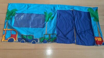 Cabin Bed Curtains Blue  • 3£