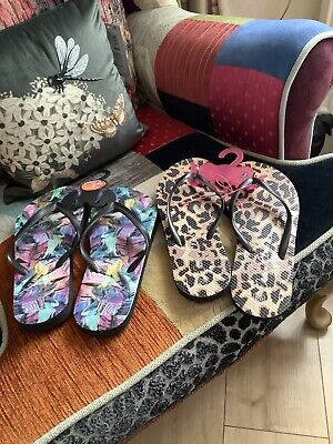 £12 • Buy Primark & George Flip Flops Size 3/4 Brand New With Tags