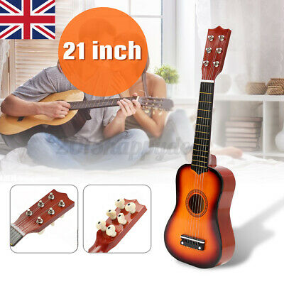 £15.99 • Buy 21'' Childrens Kids Wooden Acoustic Guitar Musical Instrument Gift Child Toy Uk
