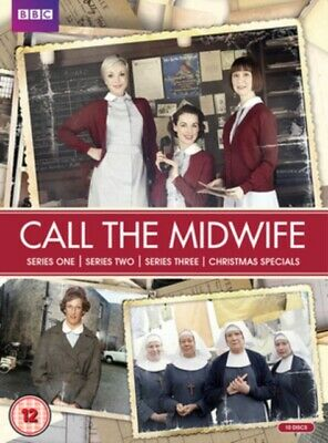 Call The Midwife Series 1-3 DVD NEW & SEALED • 10.40£