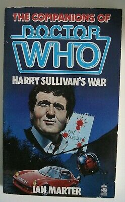 Doctor Who Harry Sullivans War-Target Paperback-Ian Marter-Great Cond • 19.99£