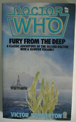 Doctor Who Fury From The Deep-Target Paperback-Victor Pemberton-Great Cond • 19.99£