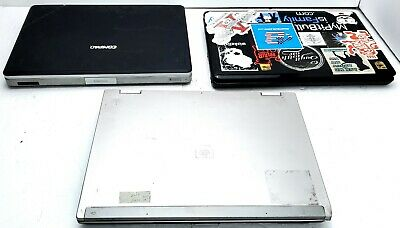 $ CDN145.10 • Buy Lot Of 3 Hp, Toshiba Laptops For Parts Or Repair Hp 8530w L505p V5000