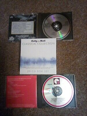 £10 • Buy Daily Mail Classical Collection CD Box Set (19) Plus Mozart & Wagner CDs