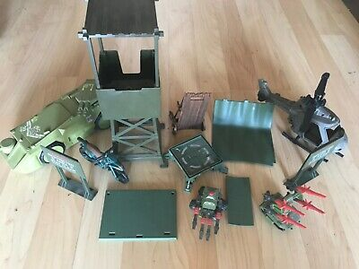 $ CDN14.08 • Buy Gi Joe Vehicle Lot Pac Rat Jump Apc Helicopter Custom Watch Tower Parts