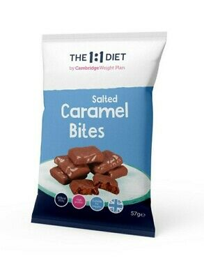 £16.50 • Buy 1:1 Diet One 2 One Diet By Cwp Salted Caramel Bites X7