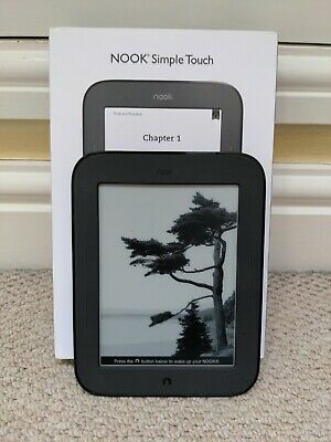£11.70 • Buy Barnes And Noble Nook Simple Touch Ebook Reader Bnrv300