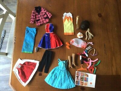 $ CDN60.45 • Buy Vintage Barbie  Clothes And Accessories Lot  Nice