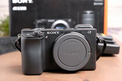 AU790.60 • Buy Sony Alpha A6300 Mirrorless 4K Camera Body With Strap, Batteries & Charger