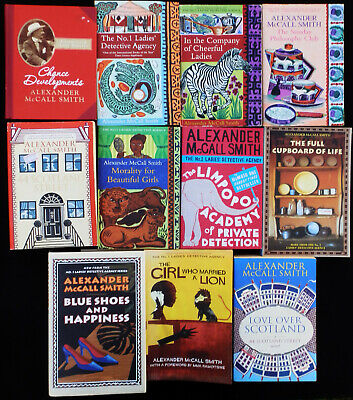 AU37 • Buy Alexander McCall Smith Collection - 11 Books